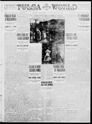 Primary view of object titled 'Tulsa Daily World (Tulsa, Okla.), Vol. 8, No. 270, Ed. 1 Sunday, July 27, 1913'.