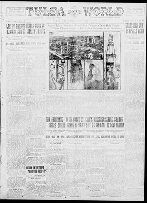 Primary view of object titled 'Tulsa Daily World (Tulsa, Okla.), Vol. 8, No. 272, Ed. 1 Wednesday, July 30, 1913'.