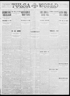 Primary view of object titled 'Tulsa Daily World (Tulsa, Okla.), Vol. 8, No. 284, Ed. 1 Wednesday, August 13, 1913'.