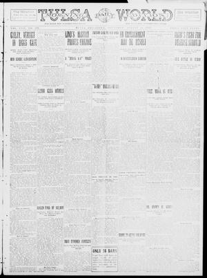 Primary view of object titled 'Tulsa Daily World (Tulsa, Okla.), Vol. 8, No. 291, Ed. 1 Thursday, August 21, 1913'.