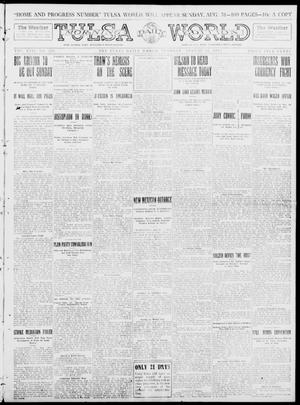 Primary view of object titled 'Tulsa Daily World (Tulsa, Okla.), Vol. 8, No. 295, Ed. 1 Tuesday, August 26, 1913'.
