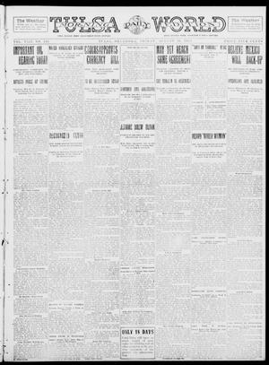 Primary view of object titled 'Tulsa Daily World (Tulsa, Okla.), Vol. 8, No. 298, Ed. 1 Friday, August 29, 1913'.