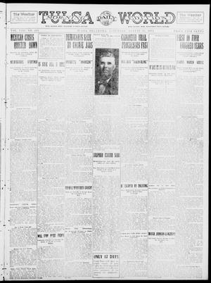 Primary view of object titled 'Tulsa Daily World (Tulsa, Okla.), Vol. 8, No. 299, Ed. 1 Saturday, August 30, 1913'.