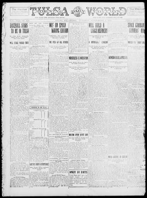 Primary view of object titled 'Tulsa Daily World (Tulsa, Okla.), Vol. 8, No. 301, Ed. 1 Tuesday, September 2, 1913'.