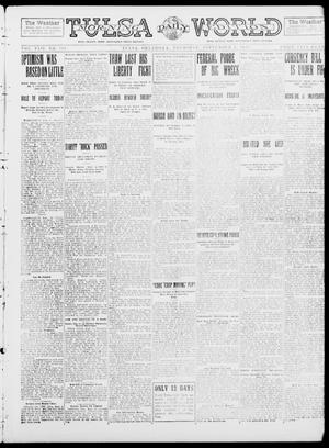 Primary view of object titled 'Tulsa Daily World (Tulsa, Okla.), Vol. 8, No. 303, Ed. 1 Thursday, September 4, 1913'.
