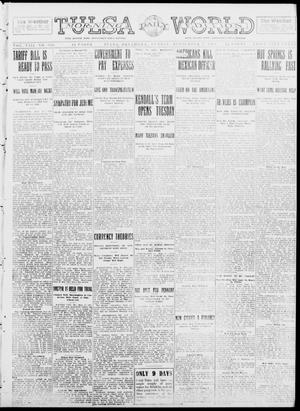 Primary view of object titled 'Tulsa Daily World (Tulsa, Okla.), Vol. 8, No. 306, Ed. 1 Sunday, September 7, 1913'.