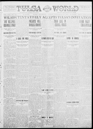 Primary view of object titled 'Tulsa Daily World (Tulsa, Okla.), Vol. 8, No. 312, Ed. 1 Sunday, September 14, 1913'.