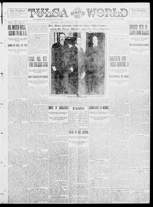 Primary view of object titled 'Tulsa Daily World (Tulsa, Okla.), Vol. 9, No. 2, Ed. 1 Thursday, September 18, 1913'.