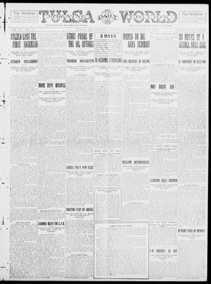 Primary view of object titled 'Tulsa Daily World (Tulsa, Okla.), Vol. 9, No. 4, Ed. 1 Saturday, September 20, 1913'.