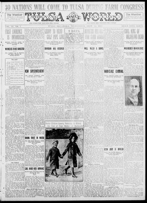 Primary view of object titled 'Tulsa Daily World (Tulsa, Okla.), Vol. 9, No. 7, Ed. 1 Wednesday, September 24, 1913'.