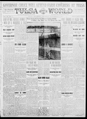 Primary view of object titled 'Tulsa Daily World (Tulsa, Okla.), Vol. 9, No. 8, Ed. 1 Thursday, September 25, 1913'.