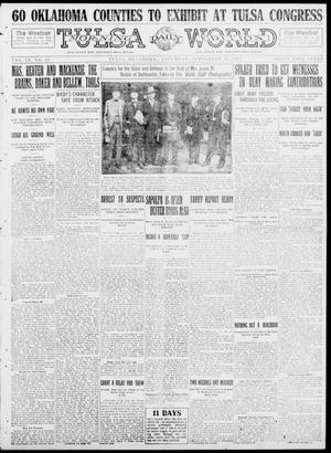 Primary view of object titled 'Tulsa Daily World (Tulsa, Okla.), Vol. 9, No. 10, Ed. 1 Saturday, September 27, 1913'.