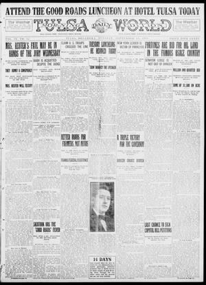 Primary view of object titled 'Tulsa Daily World (Tulsa, Okla.), Vol. 9, No. 12, Ed. 1 Tuesday, September 30, 1913'.