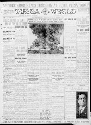 Primary view of object titled 'Tulsa Daily World (Tulsa, Okla.), Vol. 9, No. 19, Ed. 1 Wednesday, October 8, 1913'.
