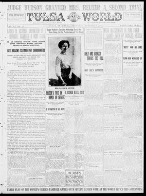Primary view of object titled 'Tulsa Daily World (Tulsa, Okla.), Vol. 9, No. 20, Ed. 1 Thursday, October 9, 1913'.