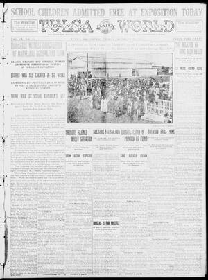 Primary view of object titled 'Tulsa Daily World (Tulsa, Okla.), Vol. 9, No. 33, Ed. 1 Friday, October 24, 1913'.