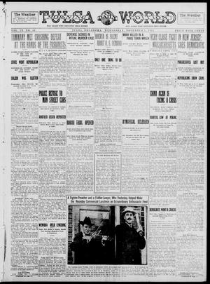 Primary view of object titled 'Tulsa Daily World (Tulsa, Okla.), Vol. 9, No. 43, Ed. 1 Wednesday, November 5, 1913'.