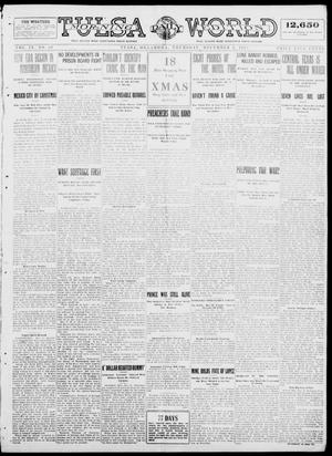 Primary view of object titled 'Tulsa Daily World (Tulsa, Okla.), Vol. 9, No. 68, Ed. 1 Thursday, December 4, 1913'.
