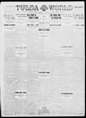 Primary view of object titled 'Tulsa Daily World (Tulsa, Okla.), Vol. 9, No. 70, Ed. 1 Saturday, December 6, 1913'.