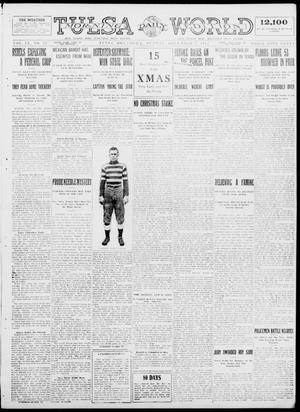Primary view of object titled 'Tulsa Daily World (Tulsa, Okla.), Vol. 9, No. 71, Ed. 1 Sunday, December 7, 1913'.