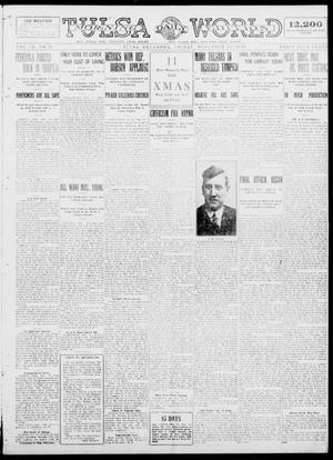 Primary view of object titled 'Tulsa Daily World (Tulsa, Okla.), Vol. 9, No. 75, Ed. 1 Friday, December 12, 1913'.