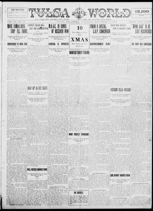 Primary view of object titled 'Tulsa Daily World (Tulsa, Okla.), Vol. 9, No. 76, Ed. 1 Saturday, December 13, 1913'.