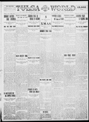 Primary view of object titled 'Tulsa Daily World (Tulsa, Okla.), Vol. 9, No. 81, Ed. 1 Friday, December 19, 1913'.