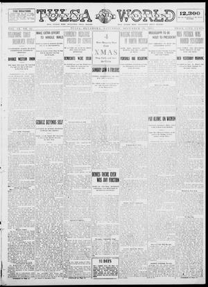Primary view of object titled 'Tulsa Daily World (Tulsa, Okla.), Vol. 9, No. 82, Ed. 1 Saturday, December 20, 1913'.