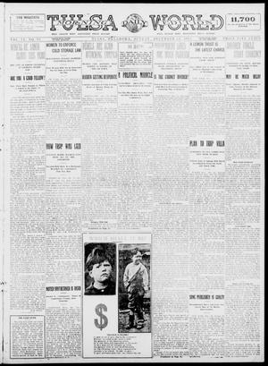 Primary view of object titled 'Tulsa Daily World (Tulsa, Okla.), Vol. 9, No. 83, Ed. 1 Sunday, December 21, 1913'.