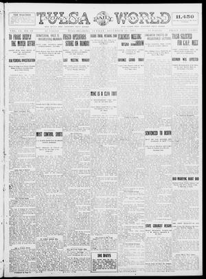 Primary view of object titled 'Tulsa Daily World (Tulsa, Okla.), Vol. 9, No. 89, Ed. 1 Sunday, December 28, 1913'.