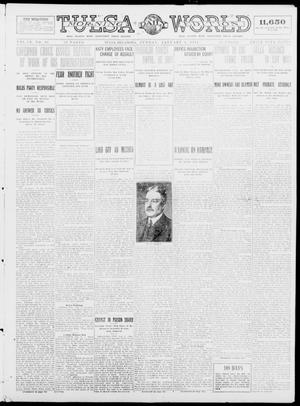 Primary view of object titled 'Tulsa Daily World (Tulsa, Okla.), Vol. 9, No. 95, Ed. 1 Sunday, January 4, 1914'.