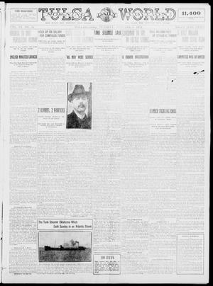 Primary view of object titled 'Tulsa Daily World (Tulsa, Okla.), Vol. 9, No. 96, Ed. 1 Tuesday, January 6, 1914'.