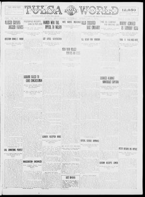Primary view of object titled 'Tulsa Daily World (Tulsa, Okla.), Vol. 9, No. 119, Ed. 1 Tuesday, February 3, 1914'.