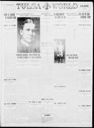 Primary view of object titled 'Tulsa Daily World (Tulsa, Okla.), Vol. 9, No. 122, Ed. 1 Tuesday, February 10, 1914'.