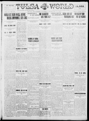 Primary view of object titled 'Tulsa Daily World (Tulsa, Okla.), Vol. 9, No. 128, Ed. 1 Tuesday, February 17, 1914'.