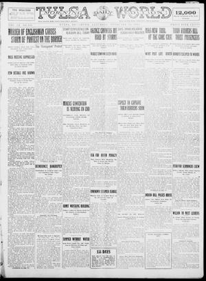 Primary view of object titled 'Tulsa Daily World (Tulsa, Okla.), Vol. 9, No. 132, Ed. 1 Saturday, February 21, 1914'.