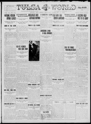 Primary view of object titled 'Tulsa Daily World (Tulsa, Okla.), Vol. 9, No. 134, Ed. 1 Tuesday, February 24, 1914'.