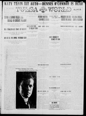 Primary view of object titled 'Tulsa Daily World (Tulsa, Okla.), Vol. 9, No. 136, Ed. 1 Thursday, February 26, 1914'.