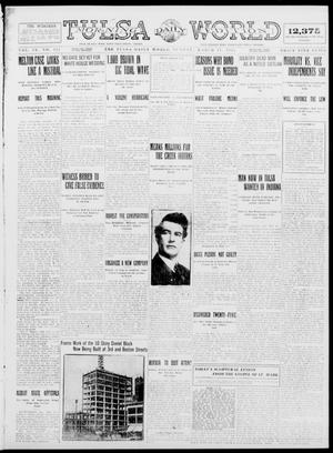 Primary view of object titled 'Tulsa Daily World (Tulsa, Okla.), Vol. 9, No. 151, Ed. 1 Sunday, March 15, 1914'.