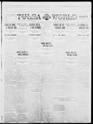 Primary view of object titled 'Tulsa Daily World (Tulsa, Okla.), Vol. 9, No. 152, Ed. 1 Tuesday, March 17, 1914'.