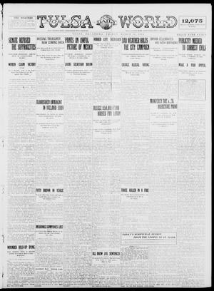 Primary view of object titled 'Tulsa Daily World (Tulsa, Okla.), Ed. 1 Friday, March 20, 1914'.