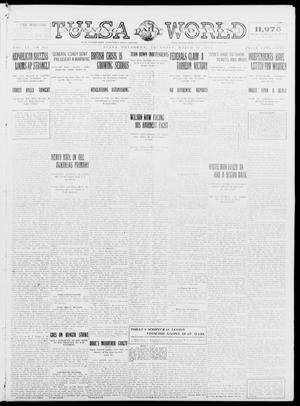 Primary view of object titled 'Tulsa Daily World (Tulsa, Okla.), Vol. 9, No. 161, Ed. 1 Thursday, March 26, 1914'.