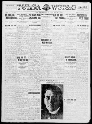 Primary view of object titled 'Tulsa Daily World (Tulsa, Okla.), Vol. 9, No. 169, Ed. 1 Sunday, April 5, 1914'.