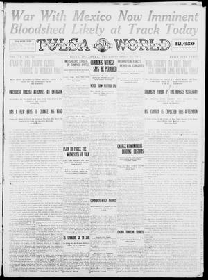 Primary view of object titled 'Tulsa Daily World (Tulsa, Okla.), Vol. 9, No. 178, Ed. 1 Thursday, April 16, 1914'.