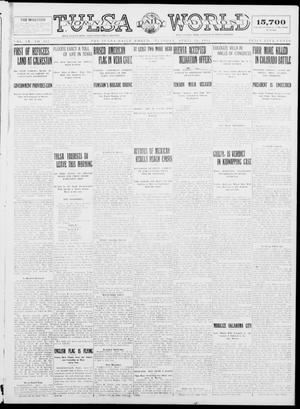 Primary view of object titled 'Tulsa Daily World (Tulsa, Okla.), Vol. 9, No. 188, Ed. 1 Tuesday, April 28, 1914'.