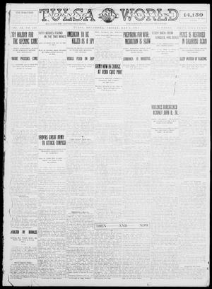 Primary view of object titled 'Tulsa Daily World (Tulsa, Okla.), Vol. 9, No. 191, Ed. 1 Friday, May 1, 1914'.