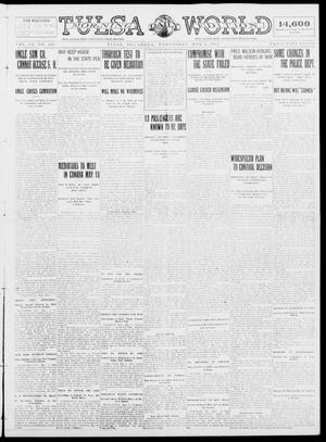 Primary view of object titled 'Tulsa Daily World (Tulsa, Okla.), Vol. 9, No. 195, Ed. 1 Wednesday, May 6, 1914'.