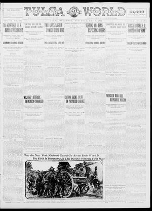 Primary view of object titled 'Tulsa Daily World (Tulsa, Okla.), Vol. 9, No. 198, Ed. 1 Saturday, May 9, 1914'.