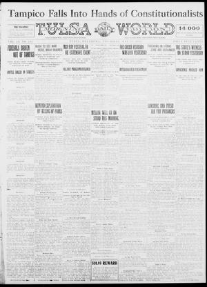Primary view of object titled 'Tulsa Daily World (Tulsa, Okla.), Vol. 9, No. 202, Ed. 1 Thursday, May 14, 1914'.