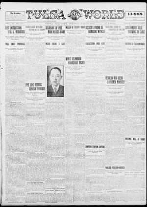 Primary view of object titled 'Tulsa Daily World (Tulsa, Okla.), Vol. 9, No. 206, Ed. 1 Tuesday, May 19, 1914'.